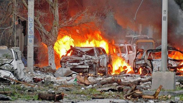 Somalia: Mehrere Tote nach Anschlag auf Hotel (Bild: AFP)