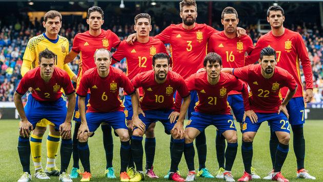 Spanien schoss sich mit 6:1-Sieg für EM warm (Bild: APA/EXPA/JFK)