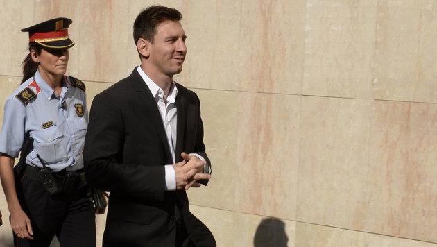 """Steuerberater entlastet Messi: """"Nie etwas erklärt"""" (Bild: AFP)"""