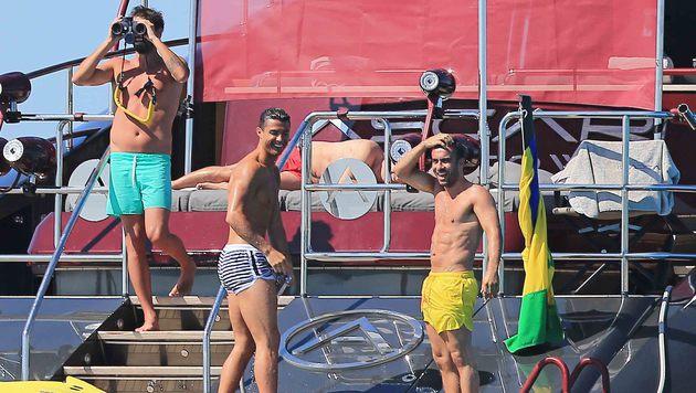 Cristiano Ronaldos seltsame EURO-Vorbereitung (Bild: Photo Press Service)