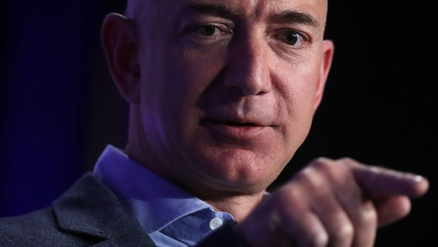 Amazon-Chef Jeff Bezos (Bild: APA/AFP/GETTY IMAGES/ALEX WONG)