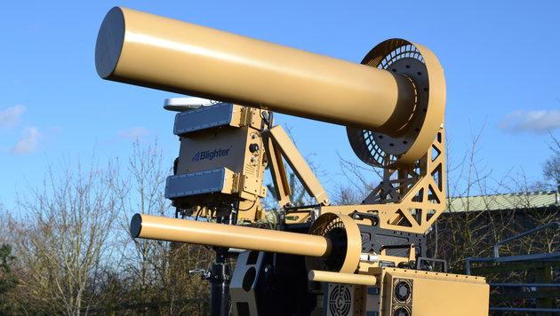 """""""Drohnen-Killer"""" sichert Flugplätze (Bild: blighter.com)"""