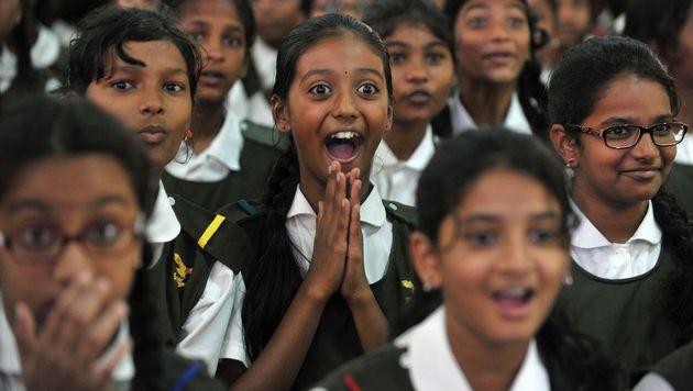 Dumme Antworten im TV: Schüler müssen zur Prüfung (Bild: AFP)