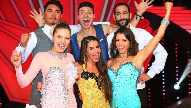 """Diese drei Paare sind im Finale von """"Let""""s Dance"""". (Bild: RTL/Stefan Gregorowius)"""
