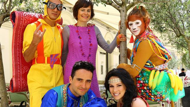 """""""Aladin und die Wunderlampe"""" bei Nina Blums Märchensommer (Bild: Copyright: Märchensommer/Martin Hesz)"""