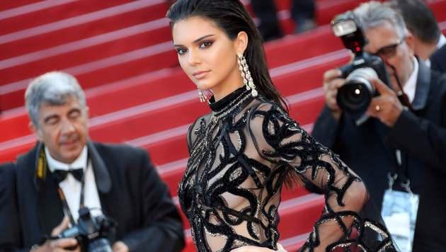 Kendall Jenner (Bild: APA/AFP/VALERY HACHE)