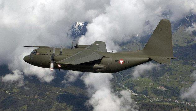 Die C-130 Hercules (Bild: BH)