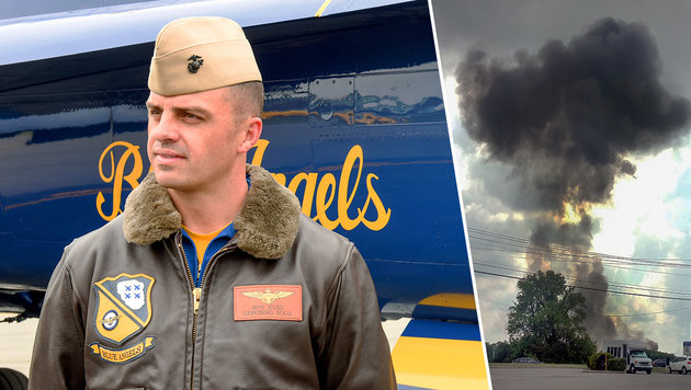 Pilot Jeff Kuss kam beim Absturz in Tennessee ums Leben. (Bild: AP/The Register & Bee/Matt Bell, AP)