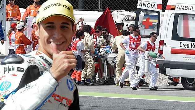 Rossi & Co. rätseln über Ursache für Unfalltod (Bild: APA/AFP/JOSEP LAGO)