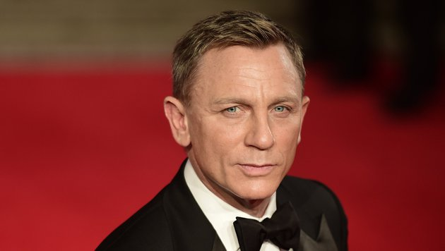 Daniel Craig (Bild: APA/AFP/LEON NEAL)