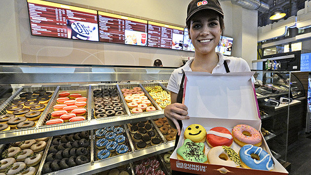 Dunkin-Donuts-Betreiber muss Insolvenz anmelden (Bild: APA/Hans Klaus Techt)