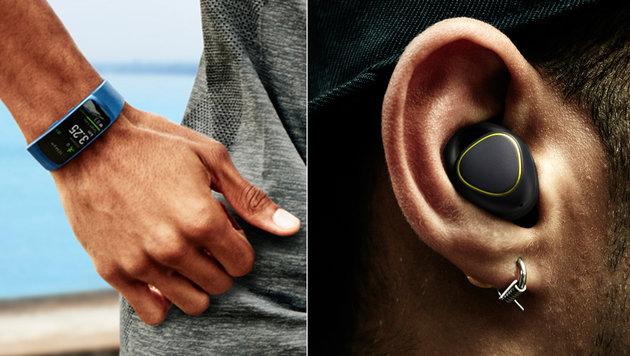 Gear Fit 2 & IconX: Samsungs neue Fitness-Gadgets (Bild: Samsung)