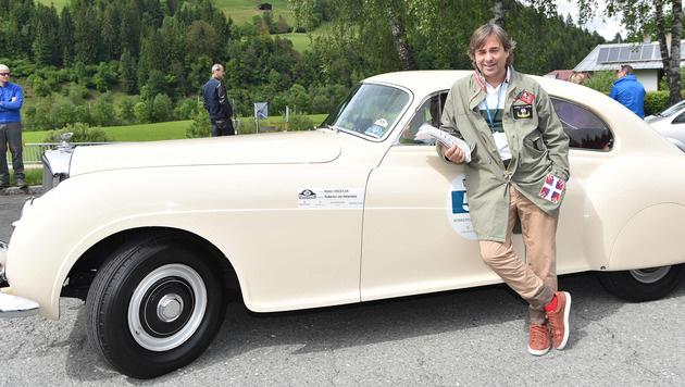 PS-Freund und Weltenbummler Hubertus von Hohenlohe bei Kitzbüheler Rallye (Bild: Babirad Picture)
