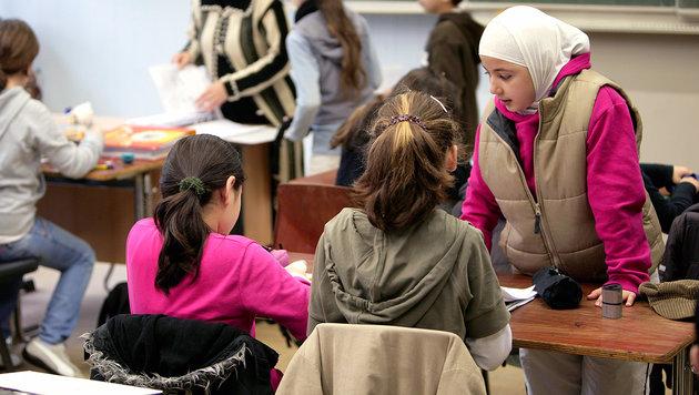 Immer mehr reine Flüchtlingsklassen (Bild: Baumgarten/vario images)