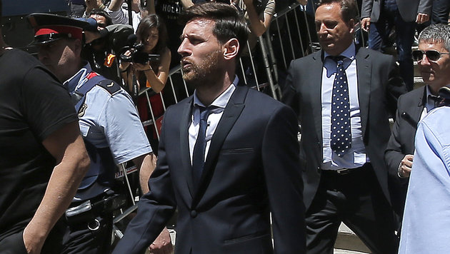 Messi in Steuerprozess mit Mafiaboss verglichen! (Bild: Associated Press)