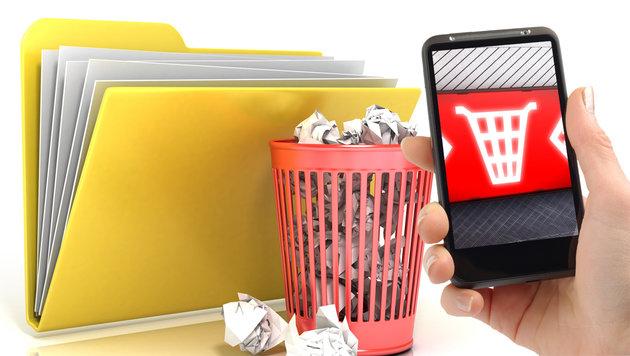 So löschen Sie Ihre Daten richtig vom Smartphone (Bild: thinkstockphotos.de)