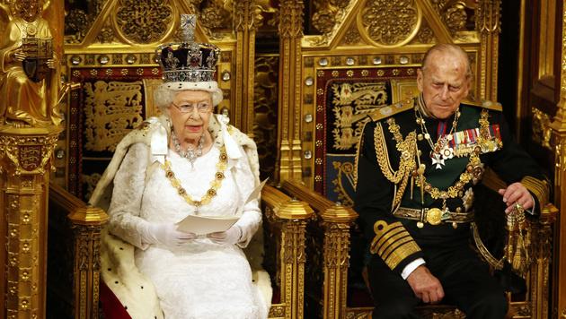 Queen Elizabeth und Prinz Philip (Bild: Associated Press)