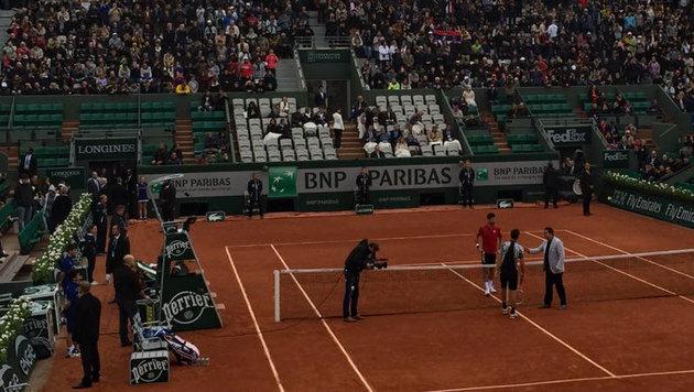Thiem chancenlos! Djokovic triumphiert in 3 Sätzen (Bild: krone.at)
