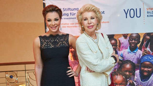 Ute Ohoven mit Tochter Chiara (Bild: Starpix/Alexander TUMA)