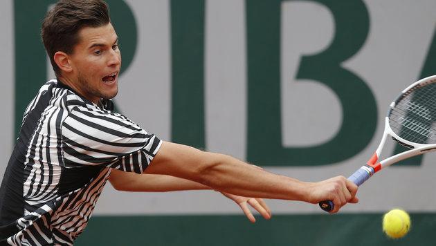 Thiem chancenlos! Djokovic triumphiert in 3 Sätzen (Bild: AP)