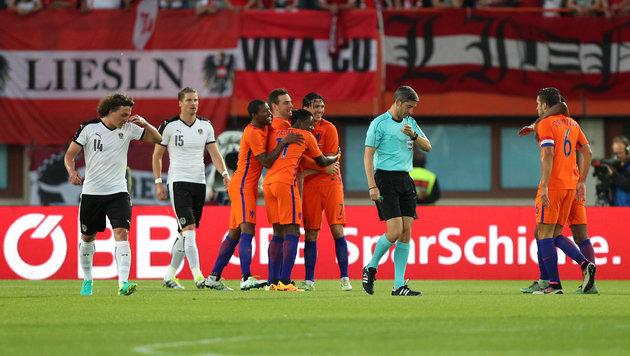 Böser Rückschlag für Nationalteam gegen Holland! (Bild: GEPA pictures)