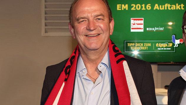 Wer außer uns wird Europameister, Herr Prohaska? (Bild: Kristian Bissuti)