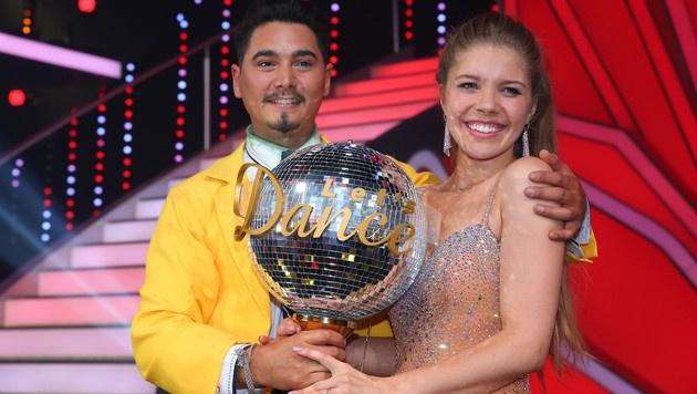 Mit Tanzpartner Erich Klann (Bild: RTL/Stefan Gregorowius)