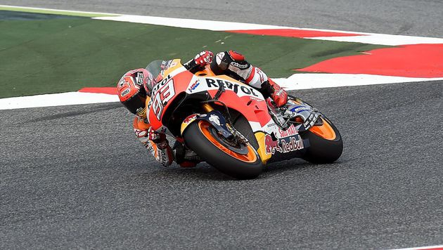 61. Karriere-Pole-Position für Marquez in Montmelo (Bild: AFP)