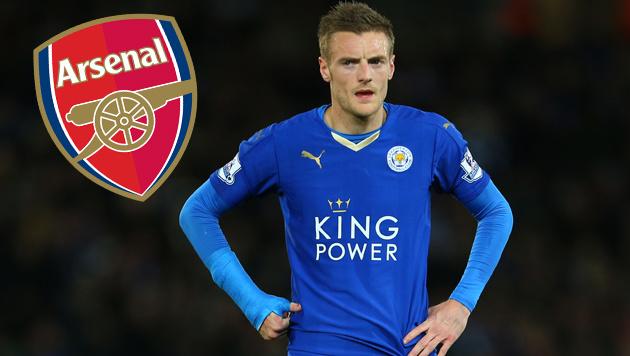 Ausstiegsklausel aktiviert: Arsenal will Vardy! (Bild: GEPA, Arsenal London)