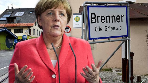 """""""Bei Brenner-Schließung ist Europa zerstört"""" (Bild: APA/AFP/GIUSEPPE CACACE, APA/AFP/ODD ANDERSEN)"""