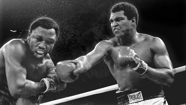 Muhammad Ali (rechts) (Bild: ASSOCIATED PRESS)