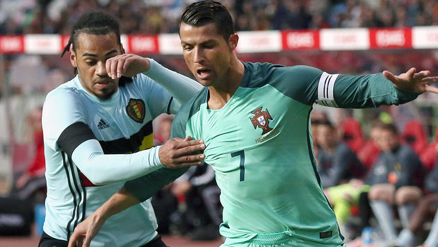 Portugal-Coach: Terrorgefahr wegen Star Ronaldo (Bild: ASSOCIATED PRESS)