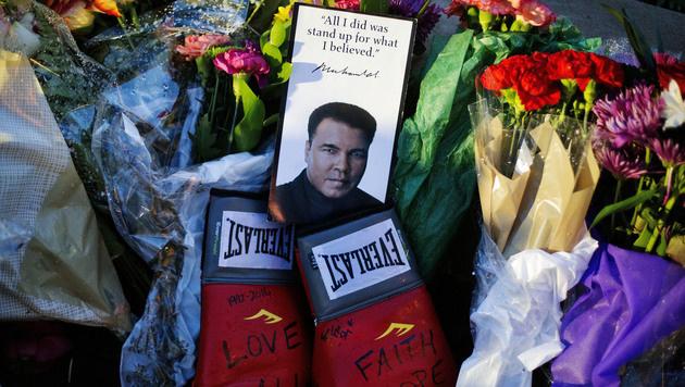 Muhammad Ali wird am Freitag öffentlich beigesetzt (Bild: Associated Press)