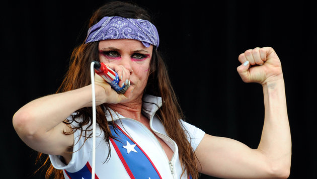 Juliette Lewis & The Licks (Bild: APA/Herbert P. Oczeret)