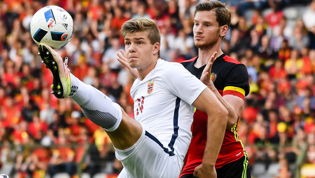 Belgien mit viel Mühe zu 3:2-Erfolg über Norwegen (Bild: Copyright 2016 The Associated Press. All rights reserved. This m)