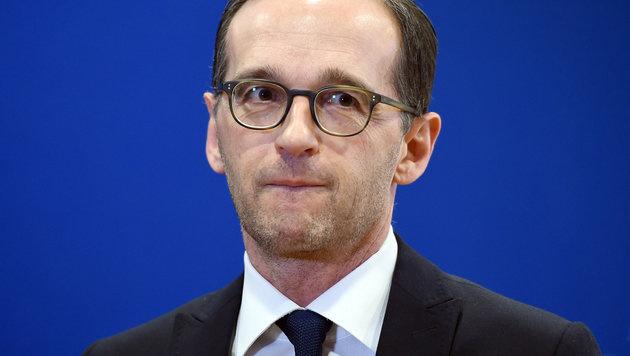Deutschlands Justizminister Heiko Maas (Bild: APA/dpa-Zentralbild/Britta Pedersen)