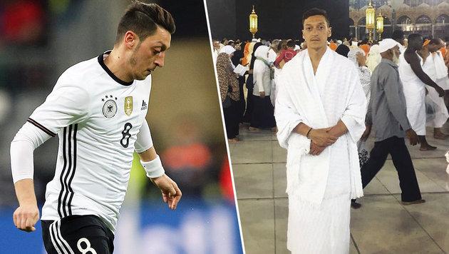 Foto von Mekka-Reise: AfD-Chefin greift Özil an! (Bild: GEPA, facebook.com)