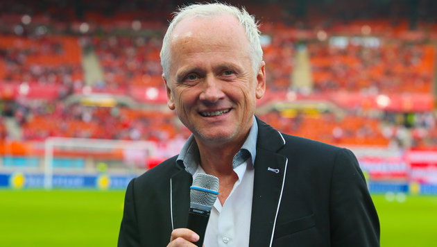 "Marek als ""Team Speaker des Nationalteams"" zur EM (Bild: GEPA)"