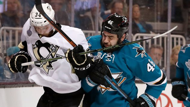 San Jose verkürzt in NHL-Finalserie (Bild: APA/AFP/GETTY IMAGES/Christian Petersen)