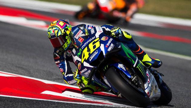 Sieg in Barcelona! Rossi lässt alle hinter sich (Bild: GEPA)