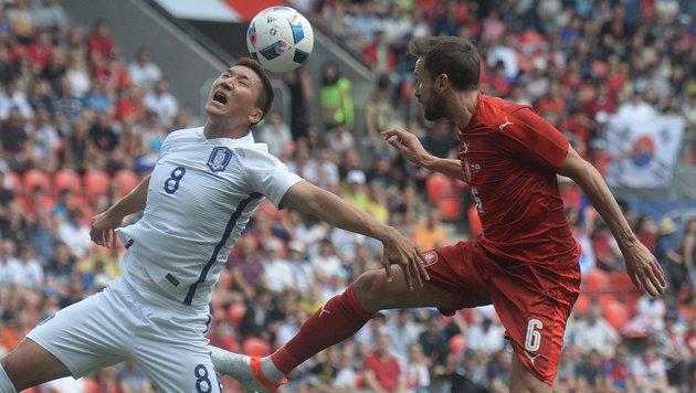 Tschechien verpatzt EURO-Probe! 1:2 gegen Südkorea (Bild: AFP or licensors)