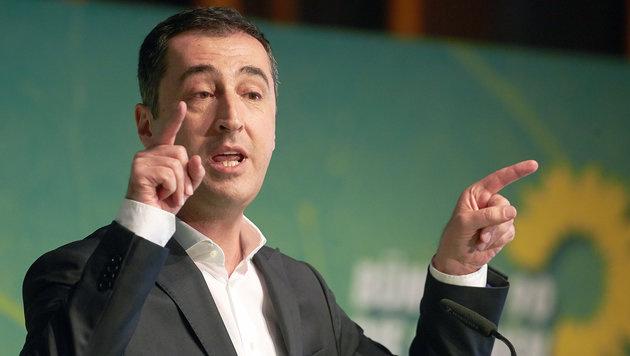 Der deutsche Grünen-Chef Cem Özdemir (Bild: APA/dpa/Thomas Frey)