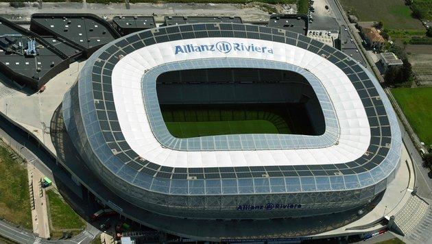 Allianz Arena in Nizza (Bild: APA/AFP/EUROLUFTBILD/ROBERT GRAHN)