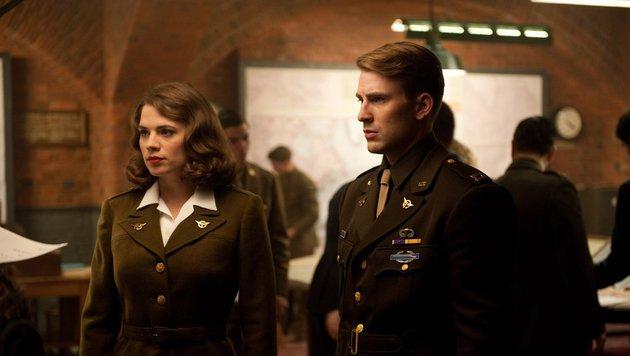"Carter und Rogers in ""Captain America: The First Avenger"" (Bild: Marvel.com)"