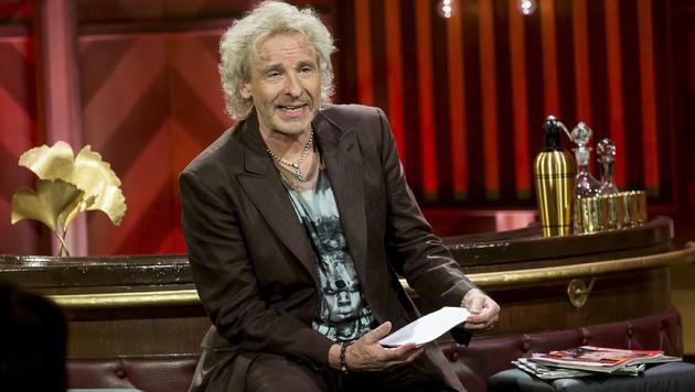 """Immer sonntags präsentiert Gottschalk die Familien-Show """"Little Big Shots"""" auf Sat.1. (Bild: RTL/Andreas Friese)"""