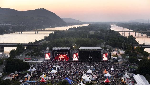 Ein Besucher des Festivals Rock in Vienna ertrank in der Neuen Donau. (Bild: APA/HERBERT P. OCZERET)