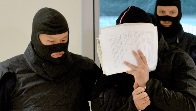 Einem 28-jährigen Syrer wurde am Salzburger Landesgericht der Prozess gemacht. (Bild: APA/BARBARA GINDL)