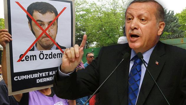 Erdogan fordert Bluttests von deutschen Mandataren (Bild: APA/AFP/ADEM ALTAN)