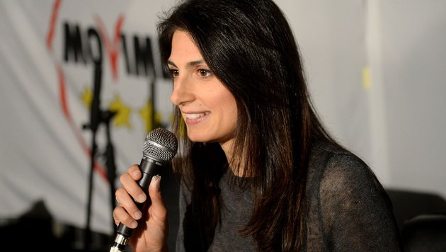 Virginia Raggi (Bild: APA/AFP/Filippo Monteforte)