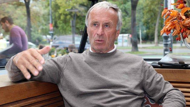 """Hickersberger: """"Team muss Achtelfinale erreichen"""" (Bild: Gerhard Gradwohl)"""
